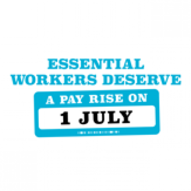 Essential pay rise win